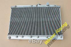 Mitsubishi En Alliage D'aluminium De Radiateur Galant Vr4 E38a / E39adodge 2000 Gtx 4g63t M / T