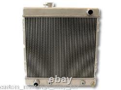 Mustang Radiator Alliage 55mm 2 Core 1965 1966 64 65 66 170 200 221 250 Aluminium