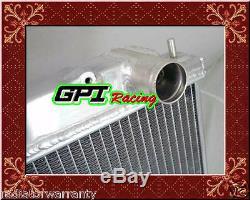 Nissan Skyline R33 R34 Gts-t Rb25det Alliage D'aluminium De Radiateur + Fan Shroud + De Ventilateur