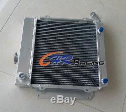 Nouveau Radiateur En Aluminium Bmw E10 2002/1802/1602/1600/1502 Tii / Turbo À / Mt