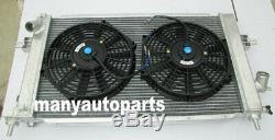 Opel Astra 2rows Vauxhall Vxr Z20leh Moteur Turbo En Alliage D'aluminium De Radiateur + Fans