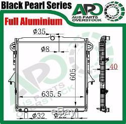 Plein Alliage 3core Radiateur Pour Ford Ranger Px / Bt-50 Mazda Essence Diesel 2011-on