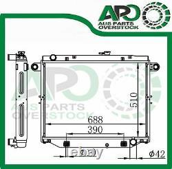 Plein Alliage Radiateur Pour Toyota Landcruiser 100 Series 4.2l Turbo Diesel 98-07