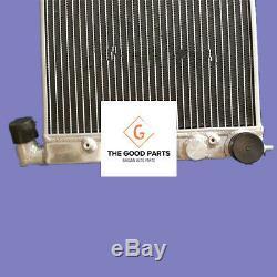 Plein Radiateur En Aluminium Volkswagen Vw Golf 2 Corrado Vr6 Turbo Mt / 16v G60 Vwo2