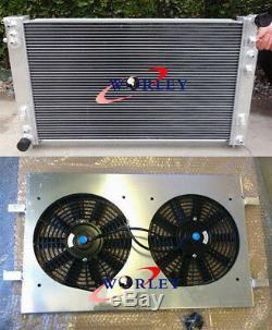 Pour 52mm Holden Commodore Hsv Vt VX V8 Ls1 Gen3 5.7l Radiateur En Alliage Et Suaire Et Ventilateur