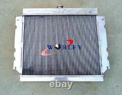 Pour Chrysler Valiant Vg Hemi Radiateur En Alliage D'aluminium 6 Cyl