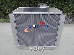 Pour Ford Capri Mk1 Mk2 Mk3 Radiateur En Aluminium Kent 1.3l 1.6l / 2.0 Essex / Escort 1.6