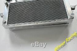 Pour Ford Escort / Sierra Rs500 / Rs Cosworth 2 Radiateur En Aluminium & Intercooler 50mm
