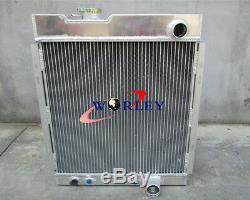 Pour Ford Mustang V8 289 302 Windsor 1964 1965 1966 Radiateur Aluminum