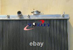 Pour Honda Accord 1990 1991 1992 1993 Prelude 92-96 94 Radiateur Manuel En Aluminium