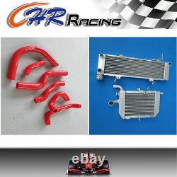 Pour Honda Rvf400 Nc35 Ou Nc30 Vfr400 Aluminium En Alliage Radiateur Et Tuyau Silicone
