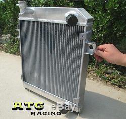 Pour Jaguar Mk1 / Mk2 Mark 2 1955-1959 S-type 63-68 Radiateur En Aluminium 56 57 58 59