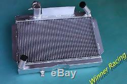Pour Mg Mga Mt 1955-1962 1.5l 1.6l En Alliage D'aluminium Radiateur 56mm Noyau