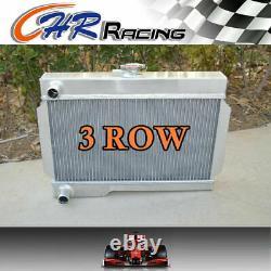 Pour Mg Rover Mgb /gt 1.8l Mt Custom Aluminium Radiator 1962-1974 1973