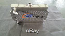 Pour Mgb Gt / Roadster Top-fill 1968-1975 1969 Radiateur En Alliage D'aluminium