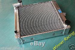 Pour Mini Tracteur Nuffield 425 Leyland 154 1500cc Radiateur 70mm Core Aluminum