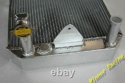 Pour Morgan 4/4 1600 Avec Moteur Ford Kent Crossflow 1969-1993 Radiateur Aluminum