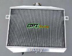 Pour Moteur Volvo Amazon P1800 B18 B20 Gt 1959-1970 Radiateur En Alliage D'aluminium M/t