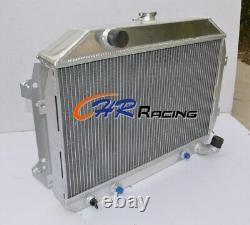 Pour Nissan Datsun 240z/260z L24/l26 At/mt Alloy Radiateur En Aluminium Complet