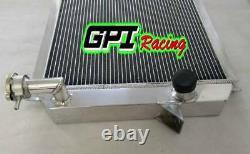 Pour Nissan Patrol Break W160/hardtop K160 Sd33 Diesel Aluminium Radiateur