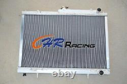 Pour Nissan Skyline R33 R34 Gtr Gtst Rb25det Manuel Mt Radiateur En Aluminium