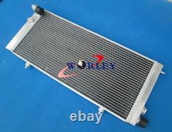 Pour Peugeot 205 Gti 1.6 1.9 1.8 Diesel Mt 1984-1994 Radiateur En Aluminium + Ventilateurs