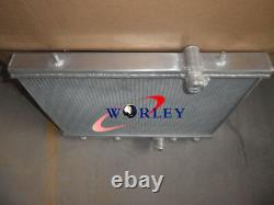Pour Peugeot 206 2.0l Gti Rc S16 Manuel Mt 1999-2008 00 01 Radiateur Aluminium +fan