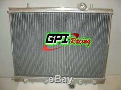 Pour Peugeot 206 Gti / Rc 180 1999-2008 07. En Alliage D'aluminium De Radiateur
