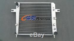 Pour Radiateur En Alliage D'aluminium Jeep Liberty Kj V6 3.7l A / T 2002-2006 2003 2004 2005