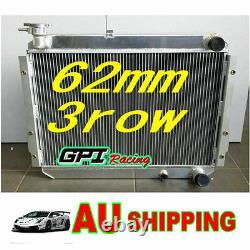 Pour Toyota Landcruiser 60 Série Hj60 Hj61 Hj62 En Alliage D'aluminium Radiateur Manuel
