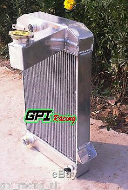 Pour Triumph Tr2 / Tr3 / Tr3a / Tr3b Mt Alliage Radiateur Aluminum