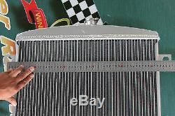 Pour Volvo Amazon P1800 B18 Moteur B20 Gt 1959-1970 M / T Radiateur En Alliage D'aluminium