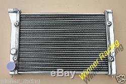 Pour Vw Corrado G60 1.8l 8v Witho Ac Mt 1988-1995 Radiateur Aluminum