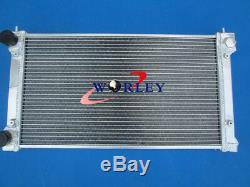 Pour Vw Golf Gti Mk1 Mk2 Scirocco 1.6 1.8 8v Mt + 2 Radiateur Aluminum Fans