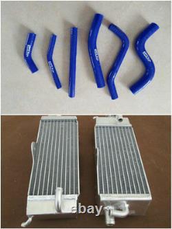 Pour Yamaha Yz250 1993 1994 1995 94 95 Radiateur En Alliage D'aluminium Et Tuyau