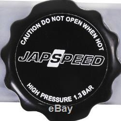 Rad De Radiateur De Course D'alliage D'aluminium De Japspeed Pour Le Manuel 1.6 De Mazda Mx-5 Mx5 Mk1 Na 1.6