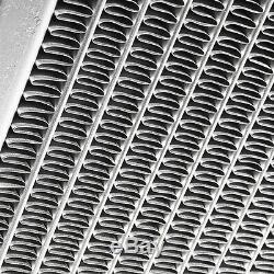 Radiant De Radiateur De Course À Haut Débit En Aluminium Allié De 40mm Pour Mitsubishi Lancer Evo 7 8 9