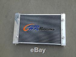 Radiateur 2 Noyaux En Aluminium Pour Vw Volkswagen Polo 86c 1.3l G40 Coupe Witho Aircon