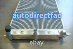 Radiateur 3 Row Alloy Pour Ford Ba Bf Falcon Fairmont Ltd Xr8 Xr6 Turbo V8 At/mt