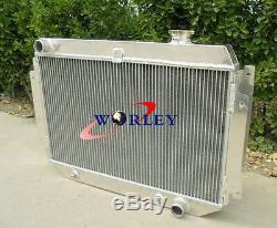 Radiateur À Alliage Automatique Chevy À 3 Rangées Holden Kingswood Hq Hj Hx Hz V8