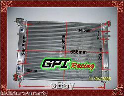 Radiateur Aluminium Aluminium Commodore Vn Vg Vp Vr Vs V6 3.8l Hautes Performances