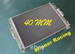 Radiateur Aluminium Fit Renault Megane/mégane II Sport 225ps Rs 2.0l F4rt Turbo