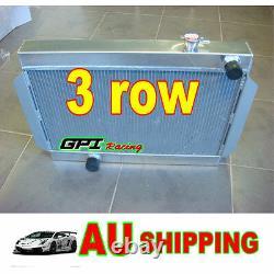 Radiateur Aluminum Alloy 3 Core Radiateur De Course Pour Tenir Torona V8 Universel