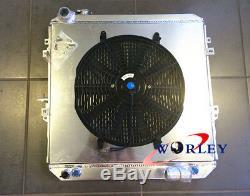 Radiateur & Carénage Et Ventilateur En Alliage À 3 Rangées Toyota Hilux Ln106 Ln111 Diesel 1988-1997 À / Mt