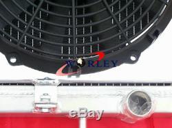 Radiateur + Carénage + Ventilateur En Aluminium Pour Nissan 180sx Silvia S13 Sr20det 1989-1994 Mt