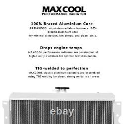 Radiateur Convient Daihatsu Aluminum Rocky Diesel / Turbodiesel 1985-1993