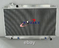 Radiateur D'alliage D'aluminium De 52mm De 52 MM Pour 89-93 Toyota Cressida Mx83 Auto / Manual