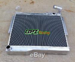 Radiateur D'alliage D'aluminium De 56mm Pour Mg Mgb Gt / Roadster 1977-80 1977 1978 1979 1980
