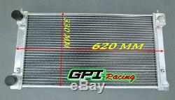 Radiateur D'alliage D'aluminium De Gpi Golf De Vw / Lapin / Scirocco Gti Mk1 / 2 8v / 16v M / T