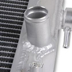 Radiateur De Course En Alliage D'aluminium À Double Noyau Pour Mazda Mx5 Mk1 Miata 1,6 1,8 90-97